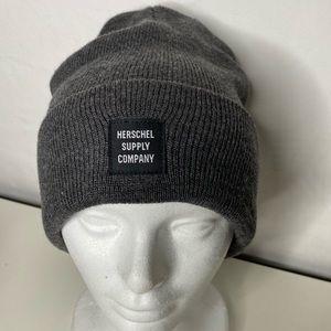 Herschel Supply Co Quartz Knit Cuffed Logo Beanie